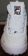 Кроссовки белые Fila Disruptor 2 all white RN-91175