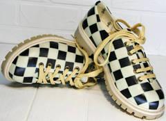 Женские туфли со шнурками Goby TMK6506