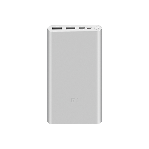Аккумулятор Xiaomi Mi Power Bank 3 10000 (PLM13ZM) (серебристый)