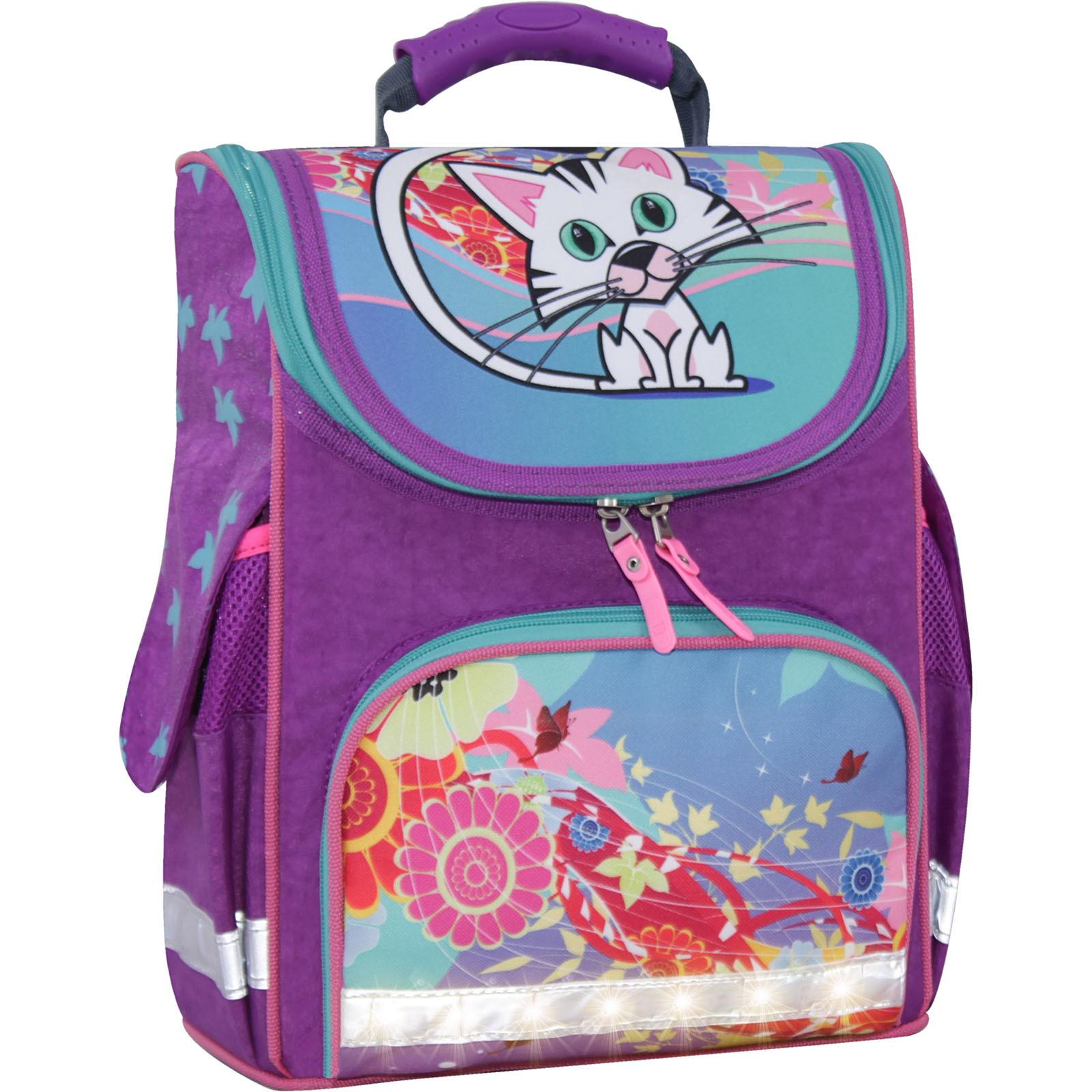 Школьные рюкзаки Рюкзак школьный каркасный с фонариками Bagland Успех 12 л. фиолетовый 502 (00551703) IMG_3869сет.суб502-1600.jpg