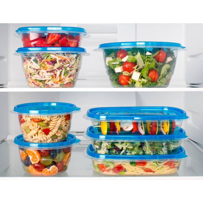 "Набор пищевых контейнеров Sistema ""TakeAlongs"" 1,2л, 4шт."