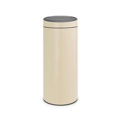 Мусорный бак Touch Bin New (30 л), Миндальный