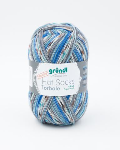 Носочная пряжа Gruendl Hot Socks Torbole 03 купить