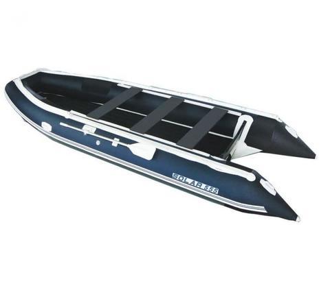 Надувная ПВХ-лодка Солар Максима - 555 МК (синий)