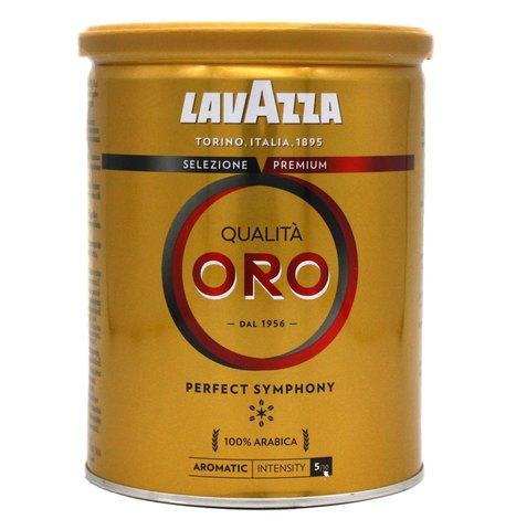 Кофе молотый Qualita Oro, Lavazza, 250 г