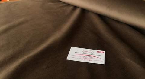 Велюр Севен 07 коричневый