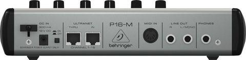 Цифровые Behringer P16-M