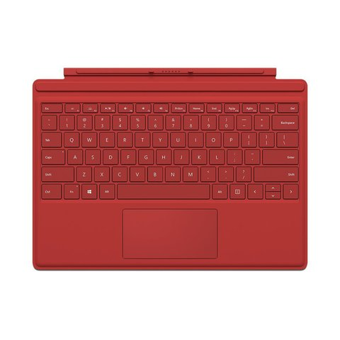 Клавиатура Microsoft Surface Pro 4 Type Cover (Red)