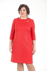 Платье Триана красный
