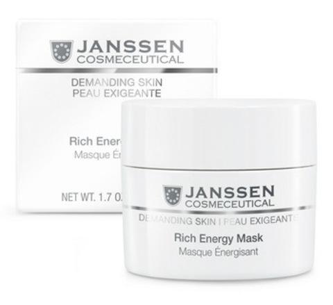 Энергонасыщающая регенерирующая маска Janssen Rich Energy Mask,50 мл.