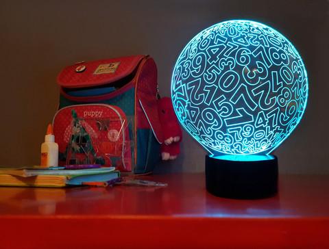 Светильник Цифровой шар