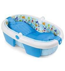 купить детскую ванночку складную  Summer Infant Foldaway