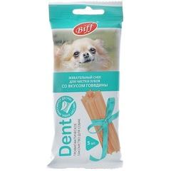 Лакомство для мелких собак TitBit Dent Biff, со вкусом говядины