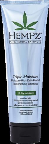 Шампунь Тройное увлажнение / Hempz Triple Moisture Replenishing Shampoo
