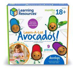LER6806 Развивающая Эмоции с авокадо Learning Resources упаковка