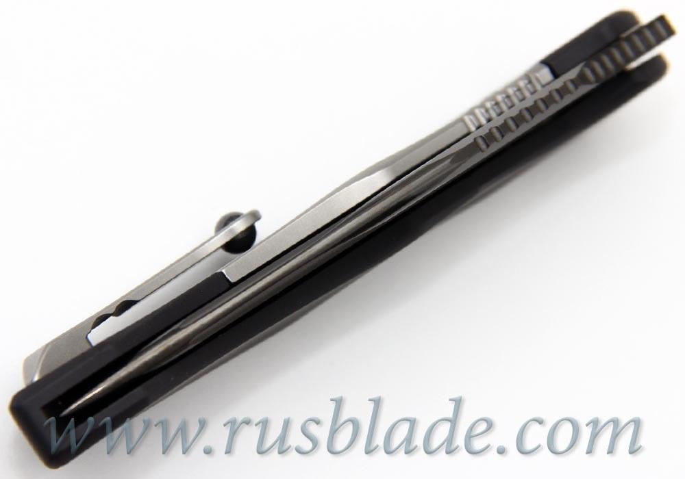 "Marfione Custom Anax Black Aluminum (3.75"" Satin DLC) - фотография"