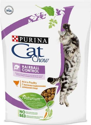15 кг. PURINA CAT CHOW Сухой корм для кошек для выведения шерсти из желудка Hairball Control