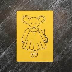 Мышка №90 в платье