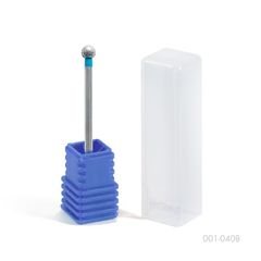 Фреза алмазная в футляре 001-40, синяя