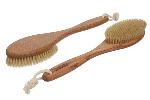 YOZHIK Щётка для сухого массажа (класс XL, натуральная щетина)_2