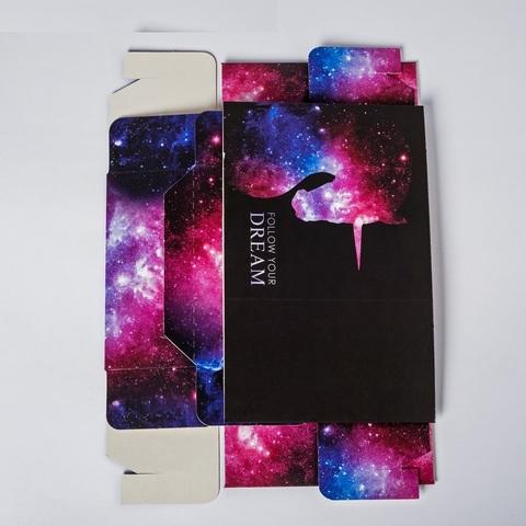 Коробка складная Follow your dream, 14 × 14 × 8 см