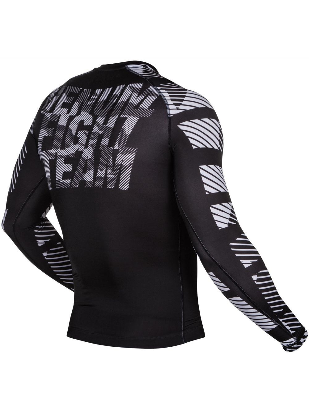 Рашгард Venum Speed Camo ls Black