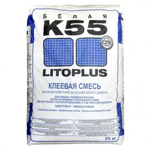 Клей плиточный ЛИТОКОЛ/LITOKOL К55, 25кг