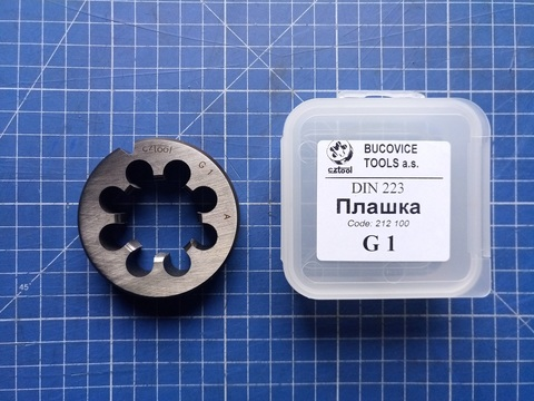 Плашка G1,0