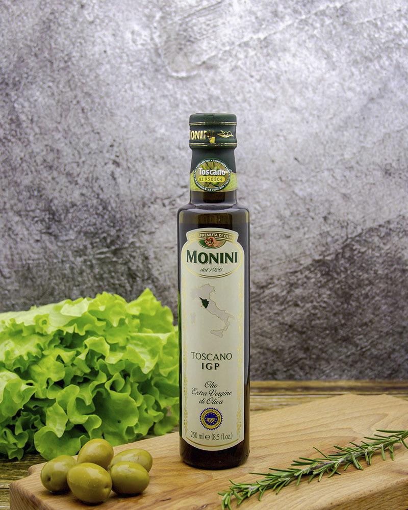 Масло оливковое Monini Экстра Вирджин Тоскано 250 мл.