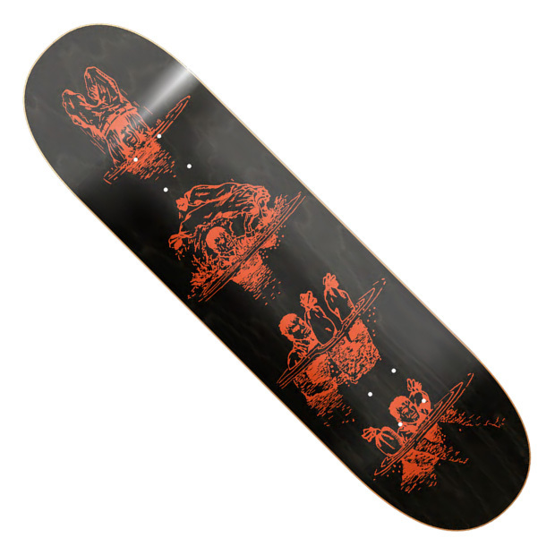 Дека для скейтборда RECORD Survival (Black)