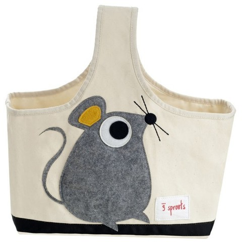 Сумка 3 Sprouts Sprouts Мышонок (Grey Mouse) 67661