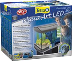Аквариумный комплекс, Tetra AquaArt LED Goldfish, 20 л, с LED освещением