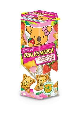 Печенье KOALA'S MARCH Strawberry 37г