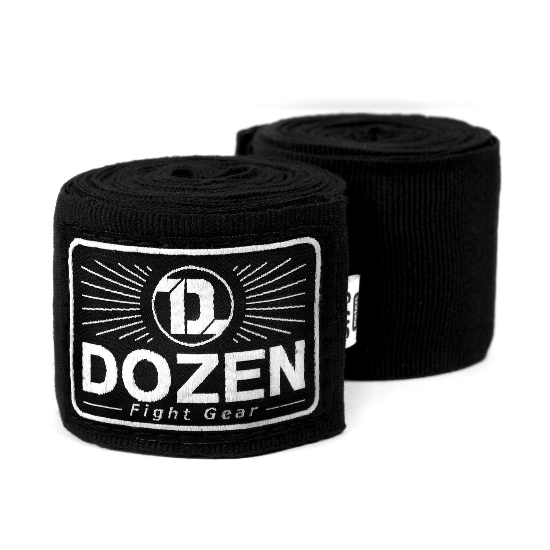Бинты черные Dozen Monochrome Semi-elastic главный вид