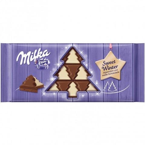 Шоколадная плитка Milka Sweet Winter 100 гр