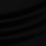 Шёлковый атлас с эластаном чёрного цвета
