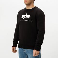 Свитшот Alpha Industries Basic Logo Sweatshirt (Черный)