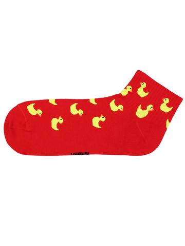 Носки Утка красная