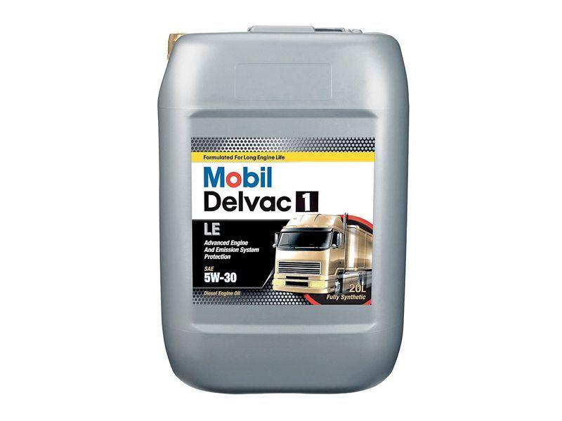 150685 152249 MOBIL DELVAC 1 LE 5W-30 синтетическое масло для коммерческого транспорта 20 Литров купить на сайте официального дилера Ht-oil.ru