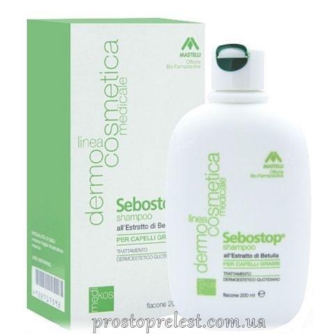 Mastelli Medical Sebostop Shampoo Capelli Grassi - Шампунь для жирных волос