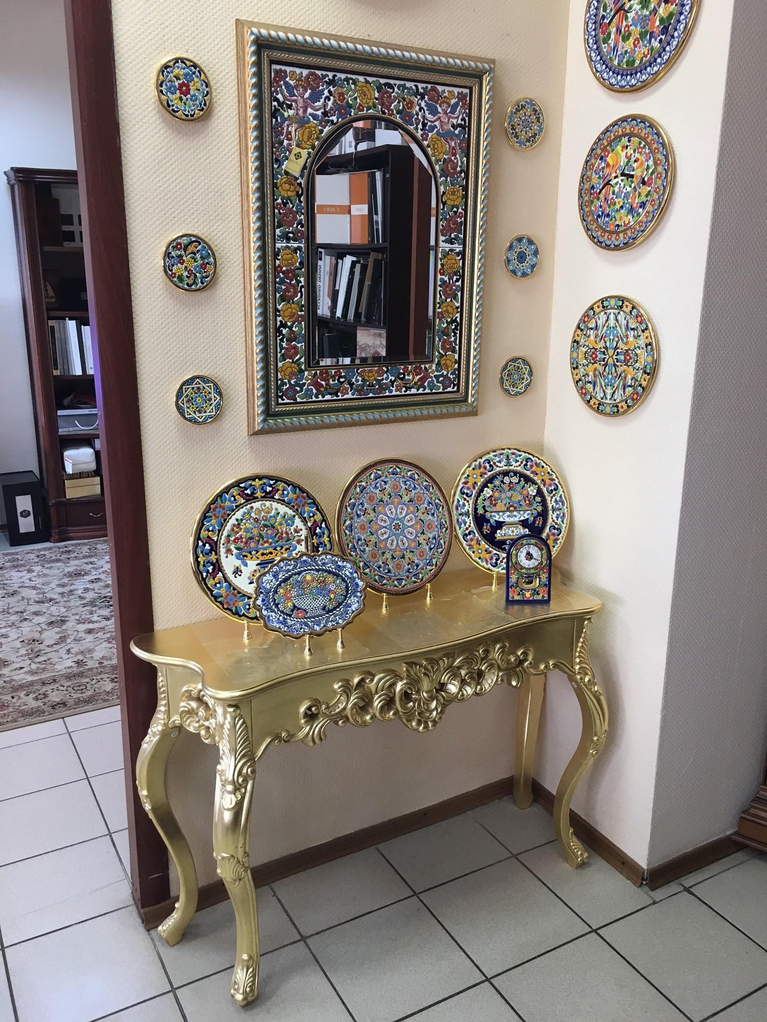 Консоль DUPEN (Дюпен) K58 золото
