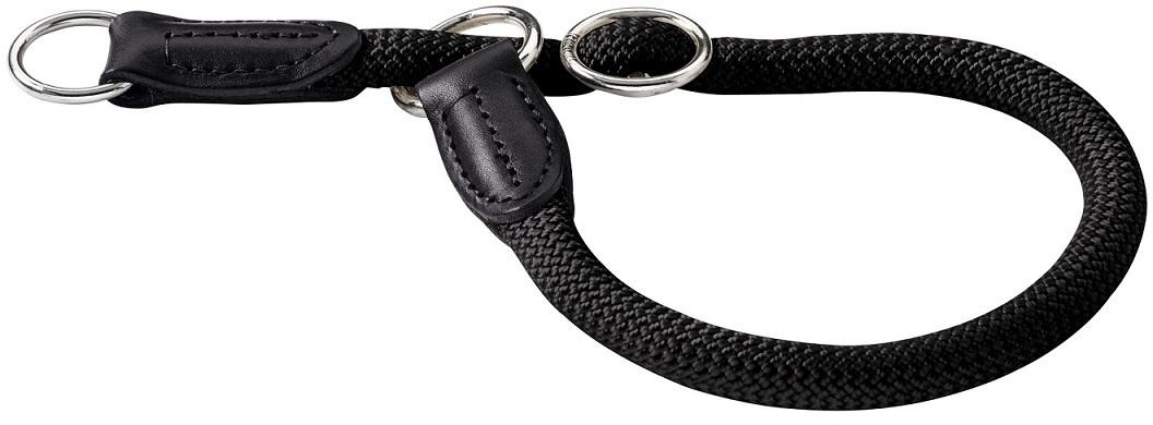 Ошейники Ошейник-удавка для собак Hunter Freestyle 40/8 круглый нейлон черный 62634.jpg
