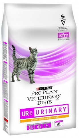 Корм для кошек для лечения и профилактики МКБ, с курицей