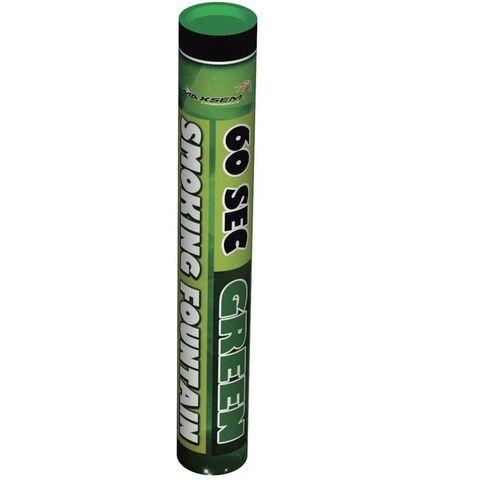 Дым зеленый 60 сек. h -220 мм.