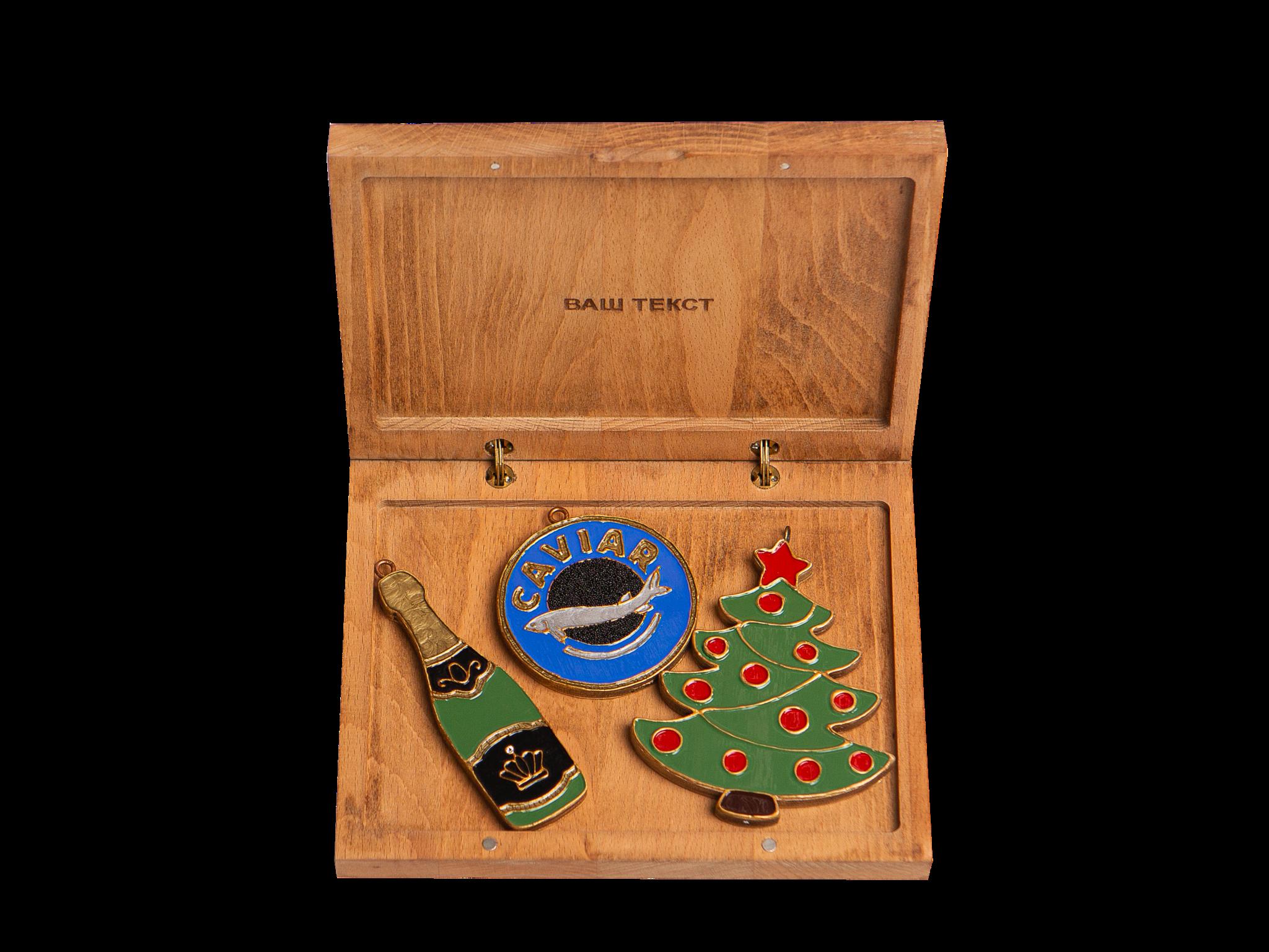 Гравировка подарочной коробки