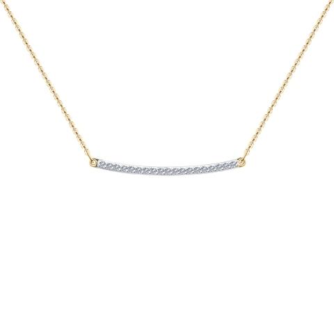 1070109 - Колье из золота с бриллиантами