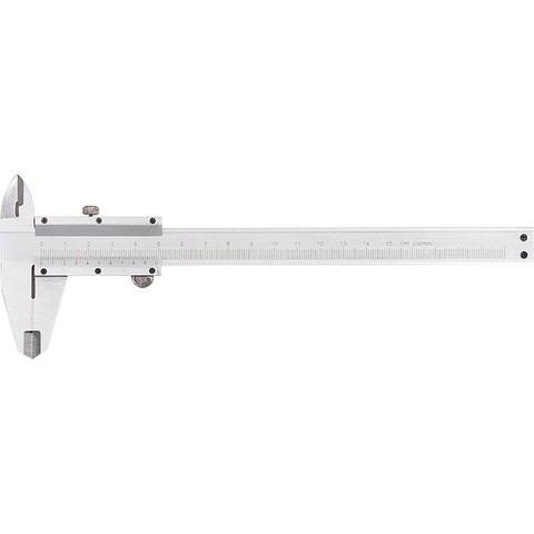 Штангенциркуль, 150 мм, металлический, с глубиномером MTX