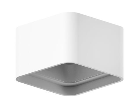 Корпус светильника накладной для насадок 70*70mm C7832 SWH белый песок 95*95*H60mm MR16 GU5.3
