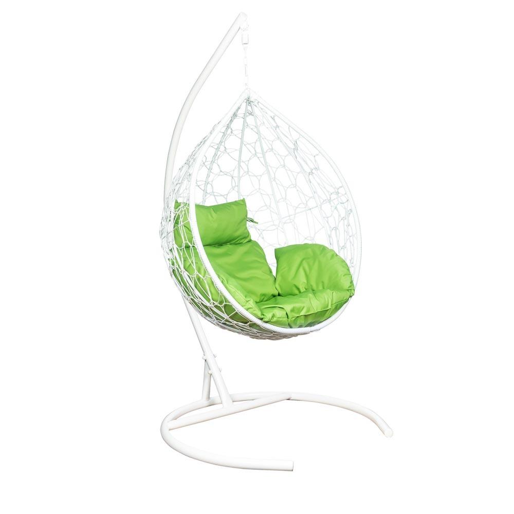 Подвесные кресла Подвесное кресло LESET EVA leset_Eva_podushka_Zelenoe-jabloko_karkas_Belyj__1_.jpg