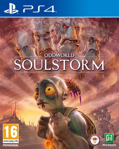 Oddworld: Soulstorm НЕстандартное издание (PS4, русские субтитры)